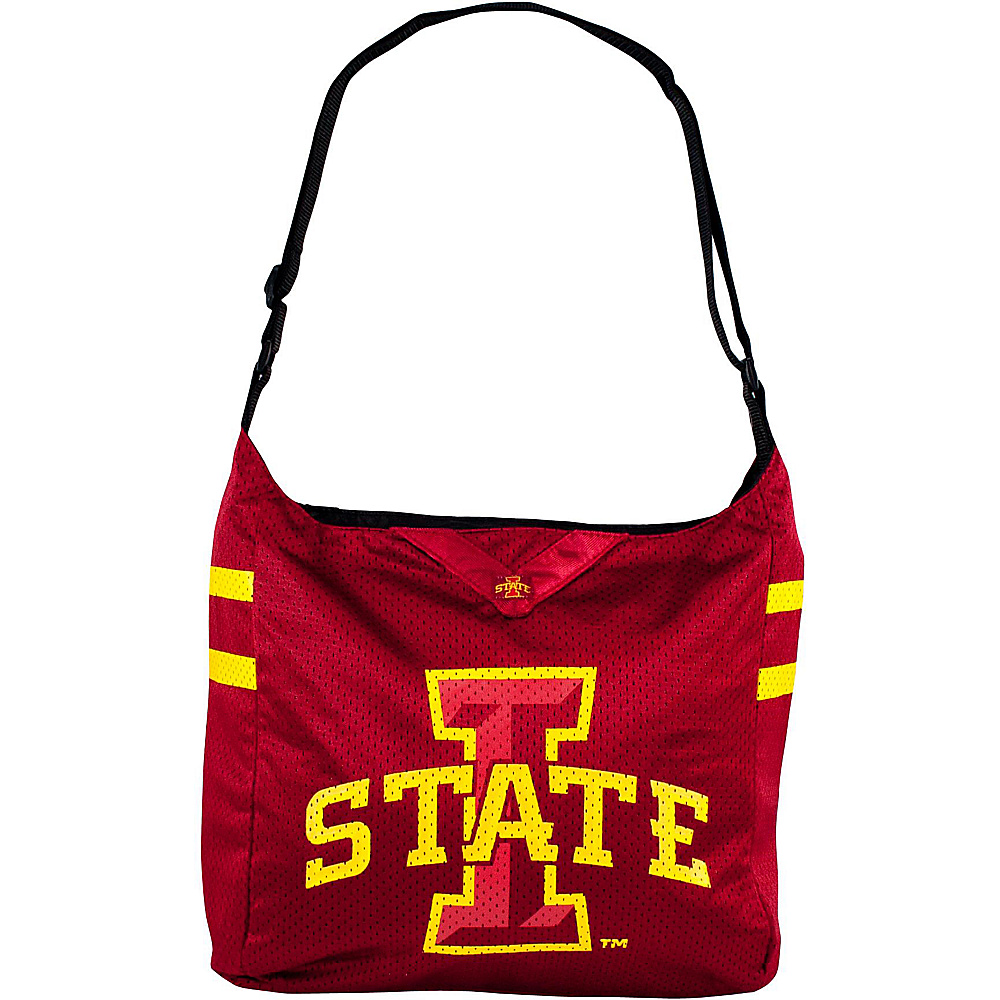 Littlearth Team Jersey Shoulder Bag - Big 12 Teams Iowa State University - Littlearth Fabric Handbags - Handbags, Fabric Handbags