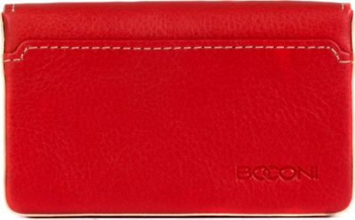 Boconi Kylie RFID Magnetic Card Case Berry with Blonde - Boconi Women's Wallets