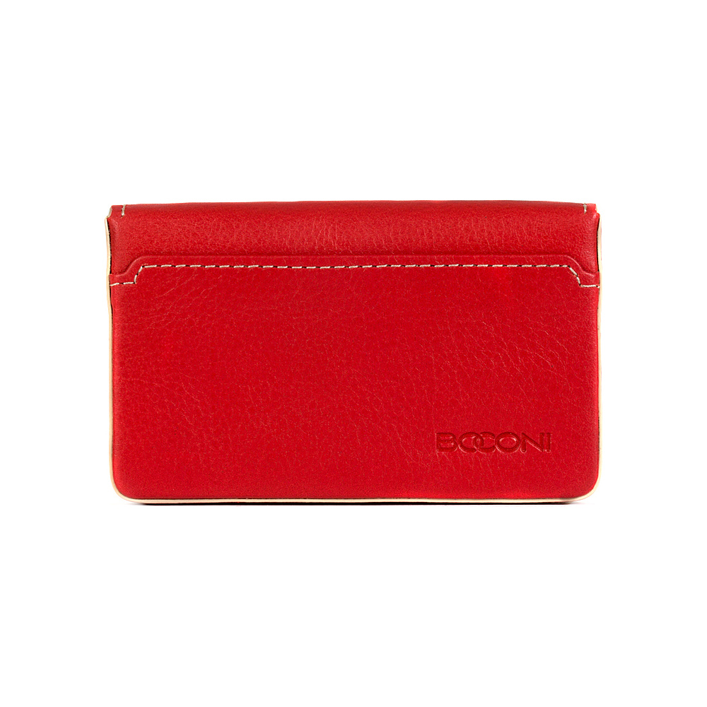 Boconi Kylie RFID Magnetic Card Case Berry with Blonde Boconi Women s Wallets