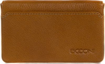 Boconi Kylie RFID Magnetic Card Case Toast with Blonde - Boconi Women's Wallets