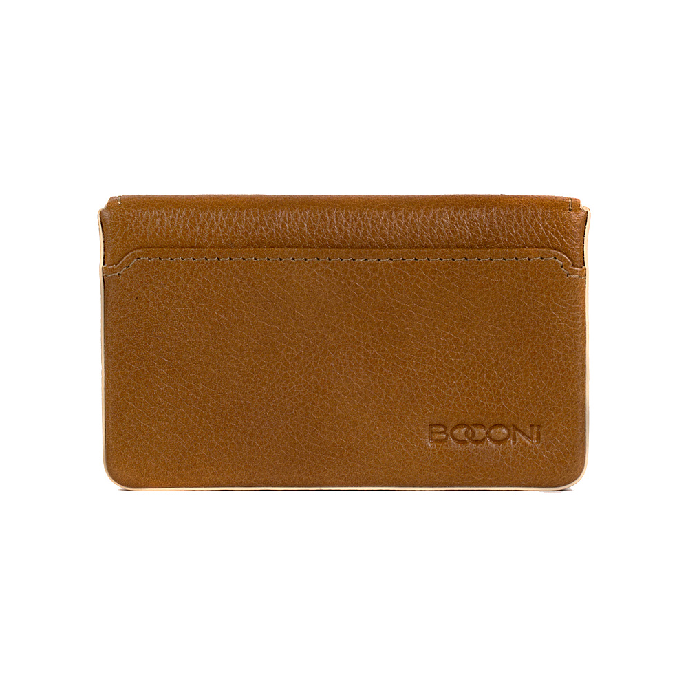 Boconi Kylie RFID Magnetic Card Case Toast with Blonde Boconi Women s Wallets
