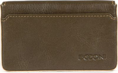Boconi Kylie RFID Magnetic Card Case Fern with Blonde - Boconi Women's Wallets