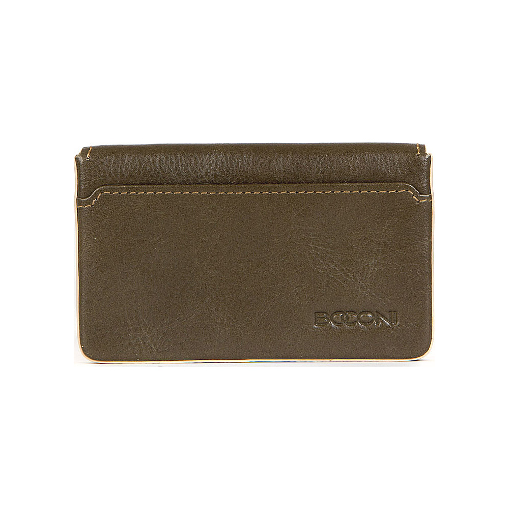 Boconi Kylie RFID Magnetic Card Case Fern with Blonde Boconi Women s Wallets