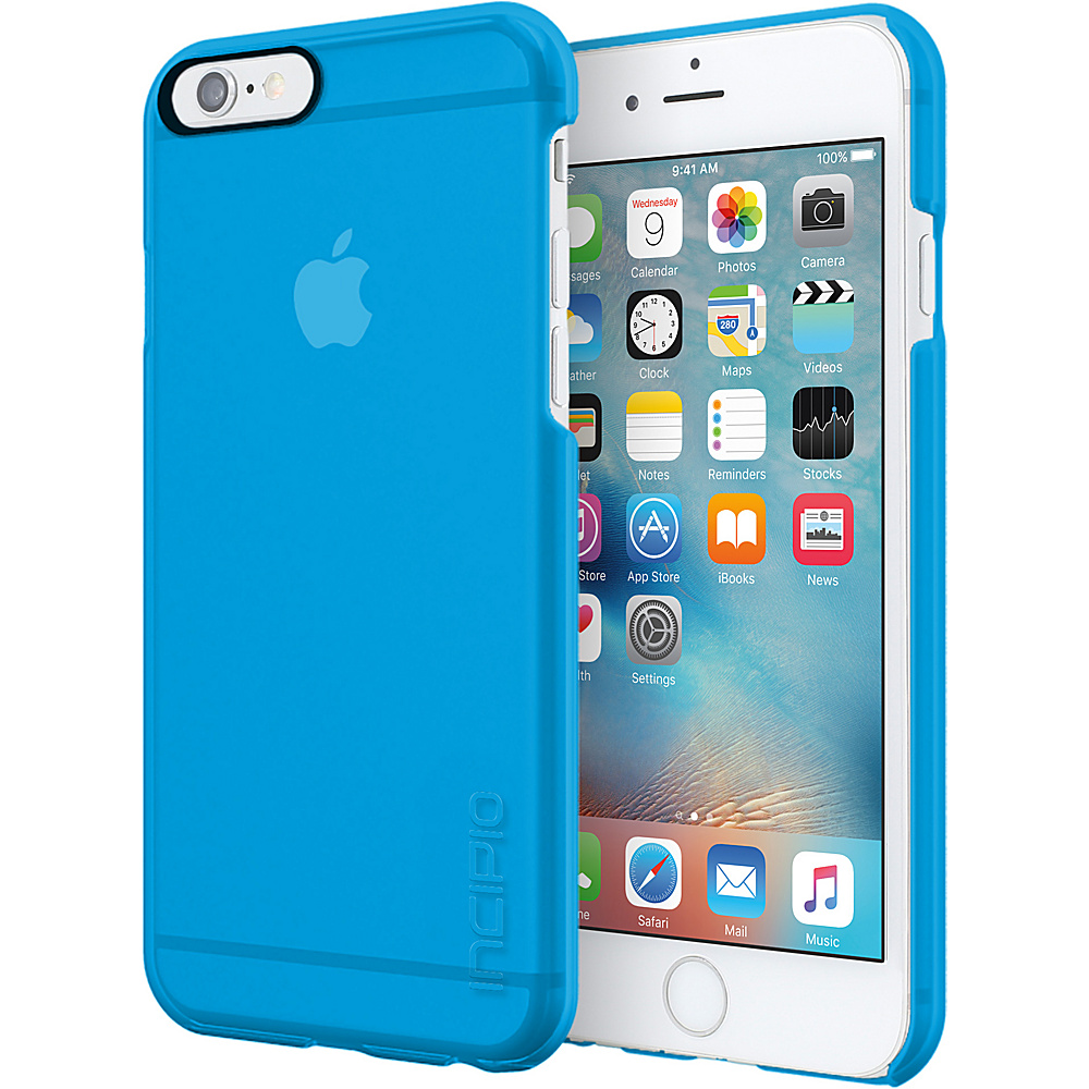 Incipio Feather Clear for iPhone 6s Plus Cyan - Incipio Electronic Cases - Technology, Electronic Cases