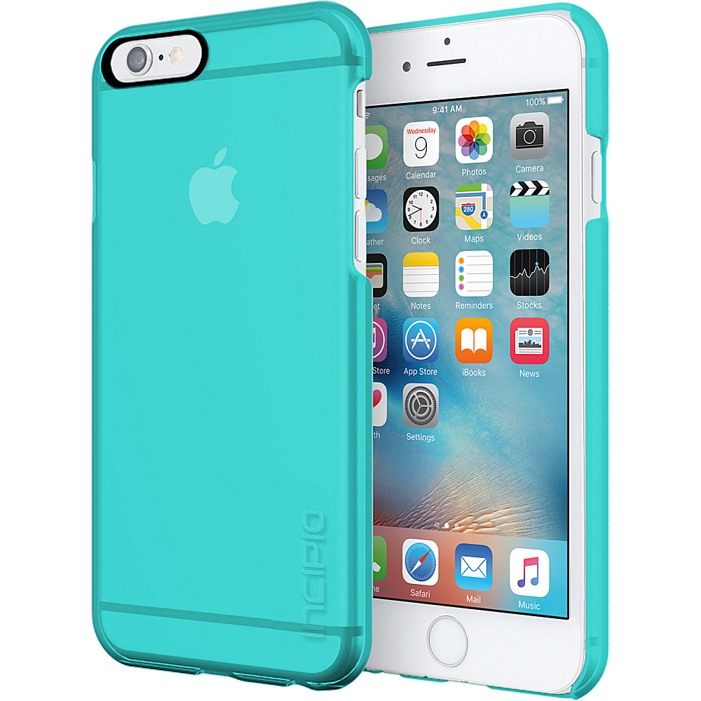 Incipio Feather Clear for iPhone 6s Plus Turquoise - Incipio Electronic Cases - Technology, Electronic Cases