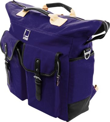 Lencca Mini Phlox 3-in-1 Backpack Messenger Tote Bag Royal Blue - Lencca Everyday Backpacks