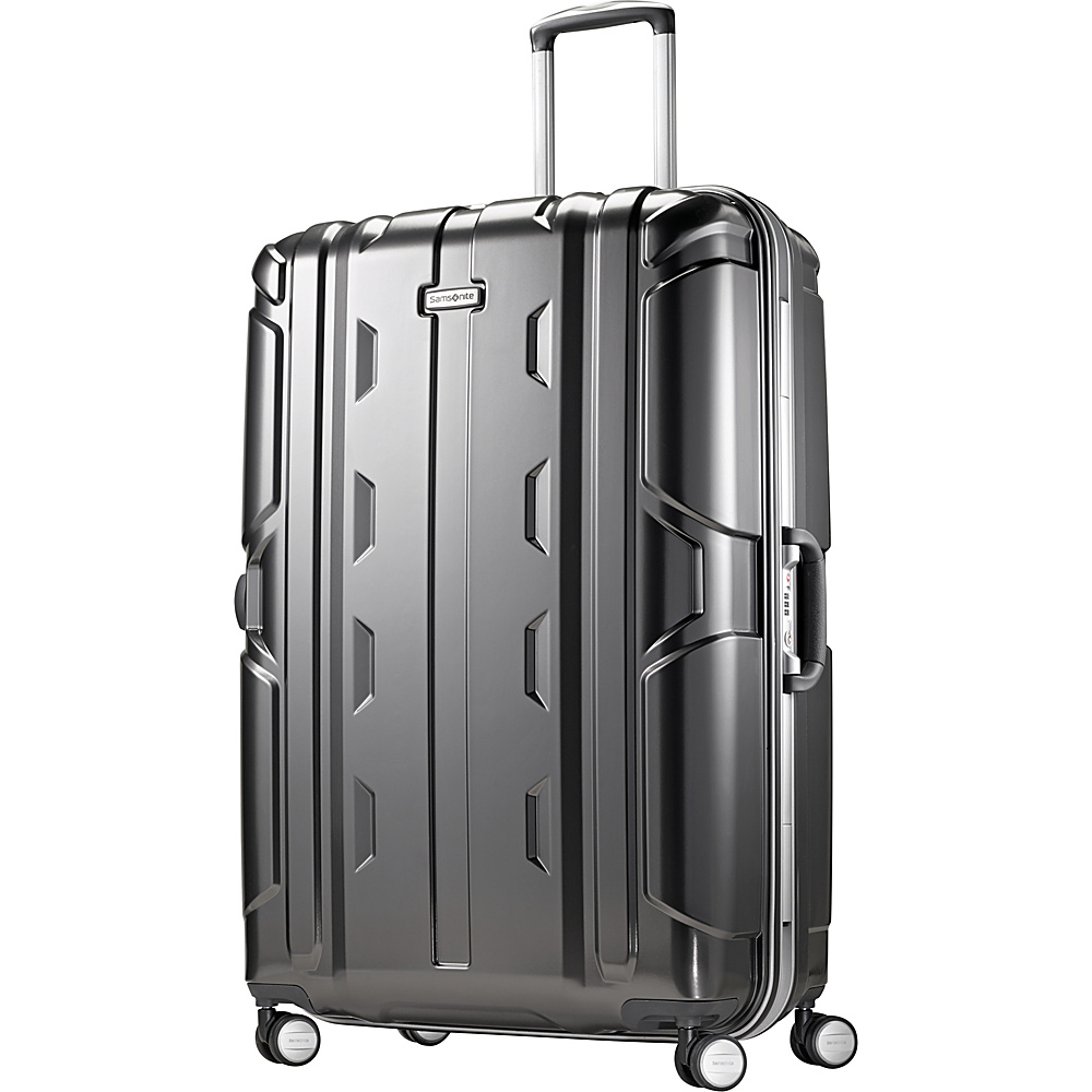 Samsonite Cruisair DLX Hardside Spinner 30 Anthracite Samsonite Hardside Checked