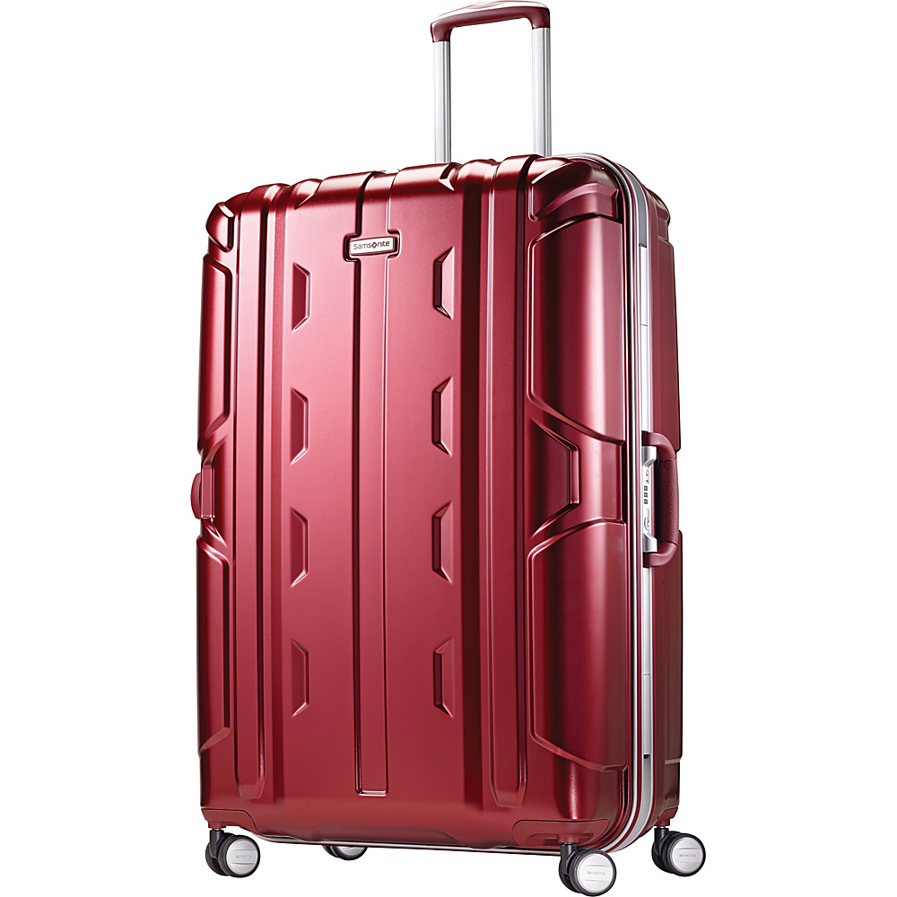 Samsonite Cruisair DLX Hardside Spinner 30 Burgundy Samsonite Hardside Checked