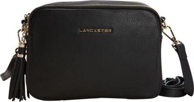 Lancaster Paris Mademoiselle Ana Black - Lancaster Paris Leather Handbags