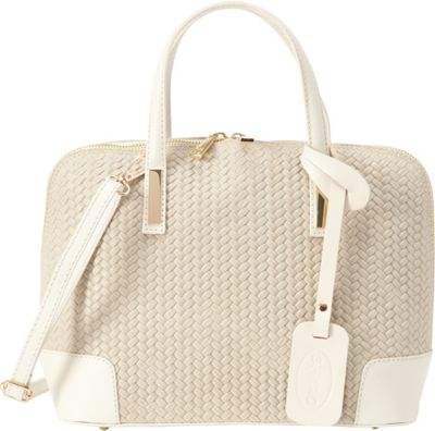 Sharo Leather Bags Small Genuine Italian Leather Tote Beige - Sharo Leather Bags Leather Handbags