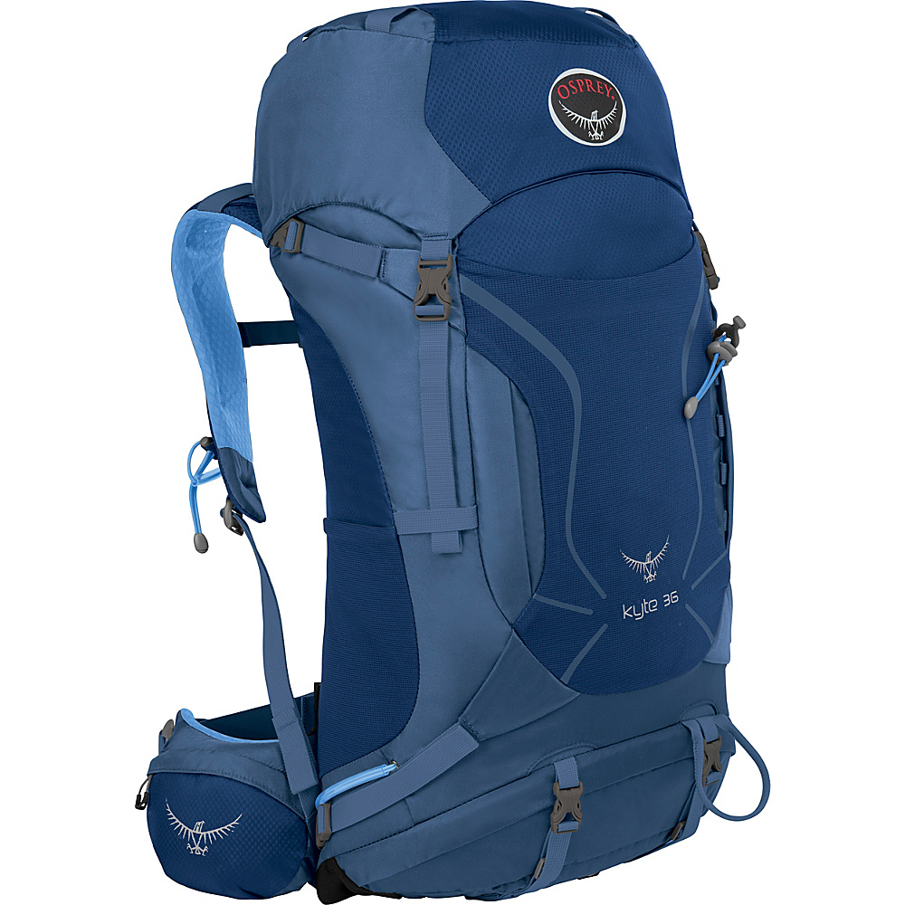 Osprey Womens Kyte 36 Backpack Ocean Blue - S/M - Osprey Backpacking Packs - Outdoor, Backpacking Packs