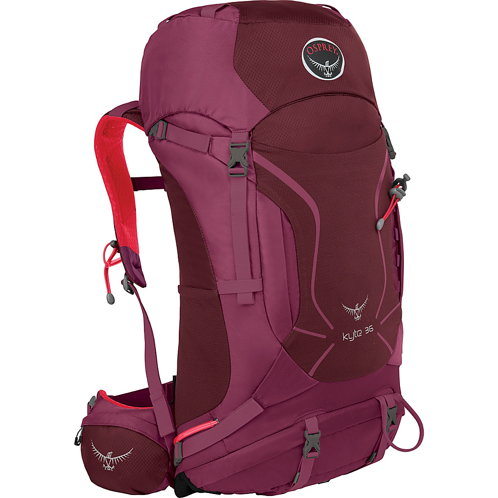 Osprey Womens Kyte 36 Backpack Purple Calla - XS/S - Osprey Backpacking Packs - Outdoor, Backpacking Packs