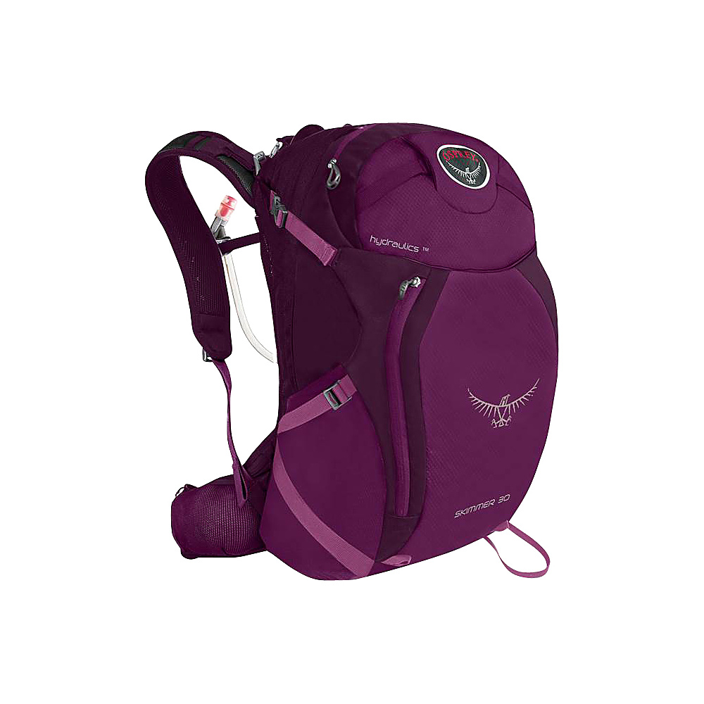 Osprey Skimmer 30 Hiking Backpack Plume Purple - S/M - Osprey Day Hiking Backpacks - Outdoor, Day Hiking Backpacks