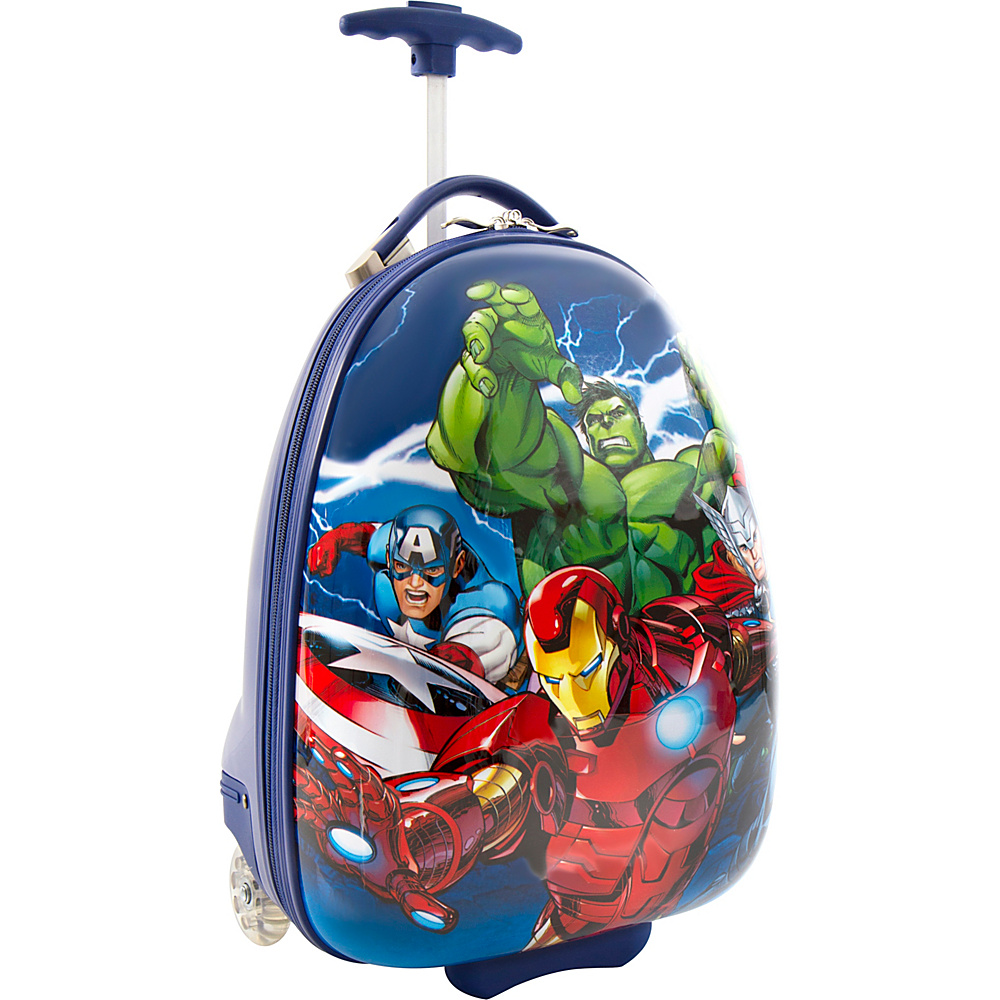 Heys America Marvel Egg Shape Luggage Avengers MULTICOLOR Heys America Kids Luggage