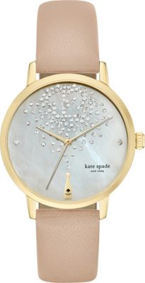 kate spade watches Metro Watch Beige - kate spade watches Watches
