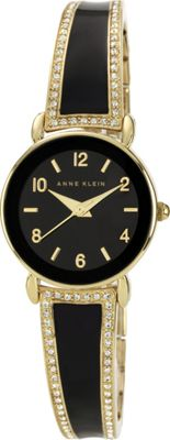 Image of Anne Klein Watches Bangle Watch Black/Gold - Anne Klein Watches Watches