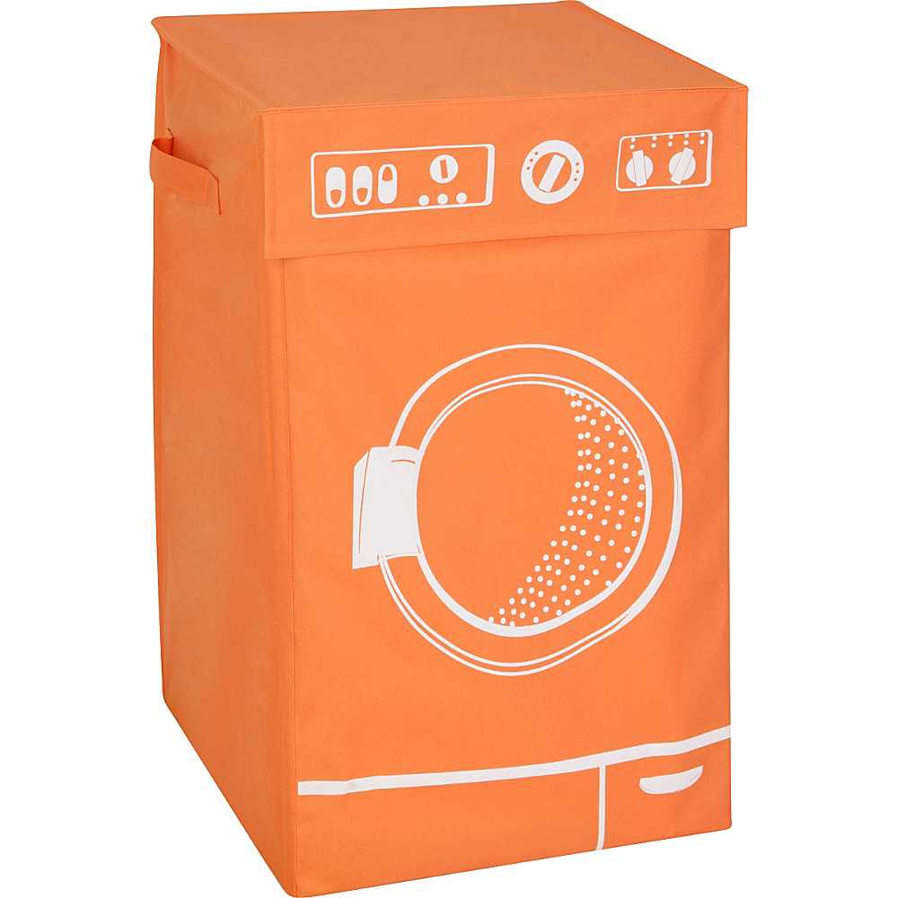 Honey Can Do Graphic Hamper orange Honey Can Do Packable Bags