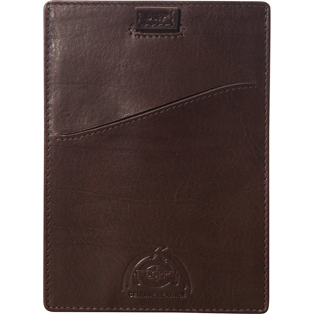 Dopp Carson RFID Pull Tab Passport Sleeve Espresso Dopp Men s Wallets