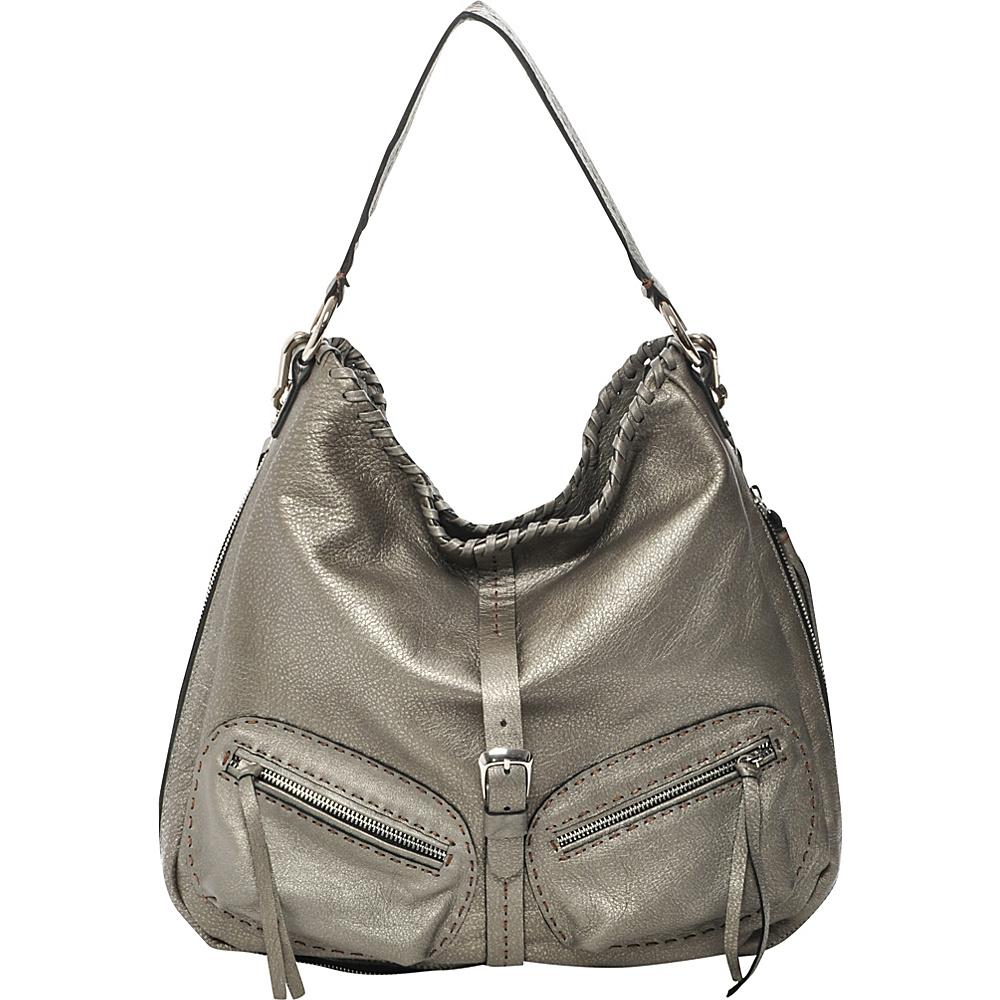 Carla Mancini Nadia Antique Silver - Carla Mancini Leather Handbags