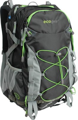 ecogear Snow Leopard 40L Hiking Pack Charcoal - ecogear Day Hiking Backpacks