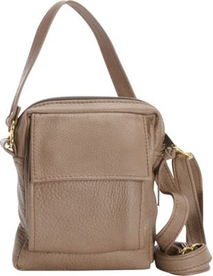 Victoria Leather CC Pouch Taupe - Victoria Leather Leather Handbags