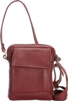 Victoria Leather CC Pouch Marsala - Victoria Leather Leather Handbags