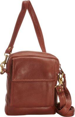 Victoria Leather CC Pouch Cognac - Victoria Leather Leather Handbags