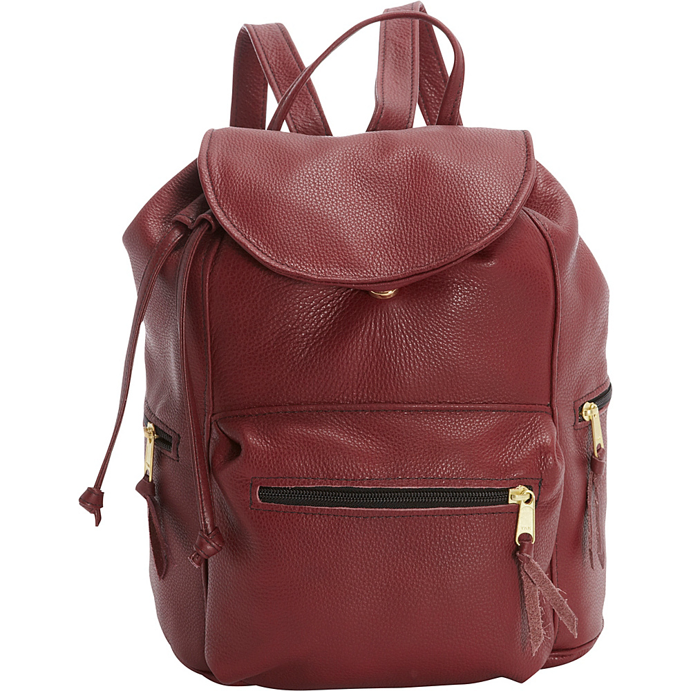 Victoria Leather Sousa Backpack Marsala - Victoria Leather Leather Handbags