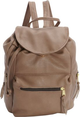 Victoria Leather Sousa Backpack Taupe - Victoria Leather Leather Handbags