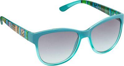 Unionbay Eyewear Tribal Cat Eye Sunglasses Turquoise - Unionbay Eyewear Sunglasses