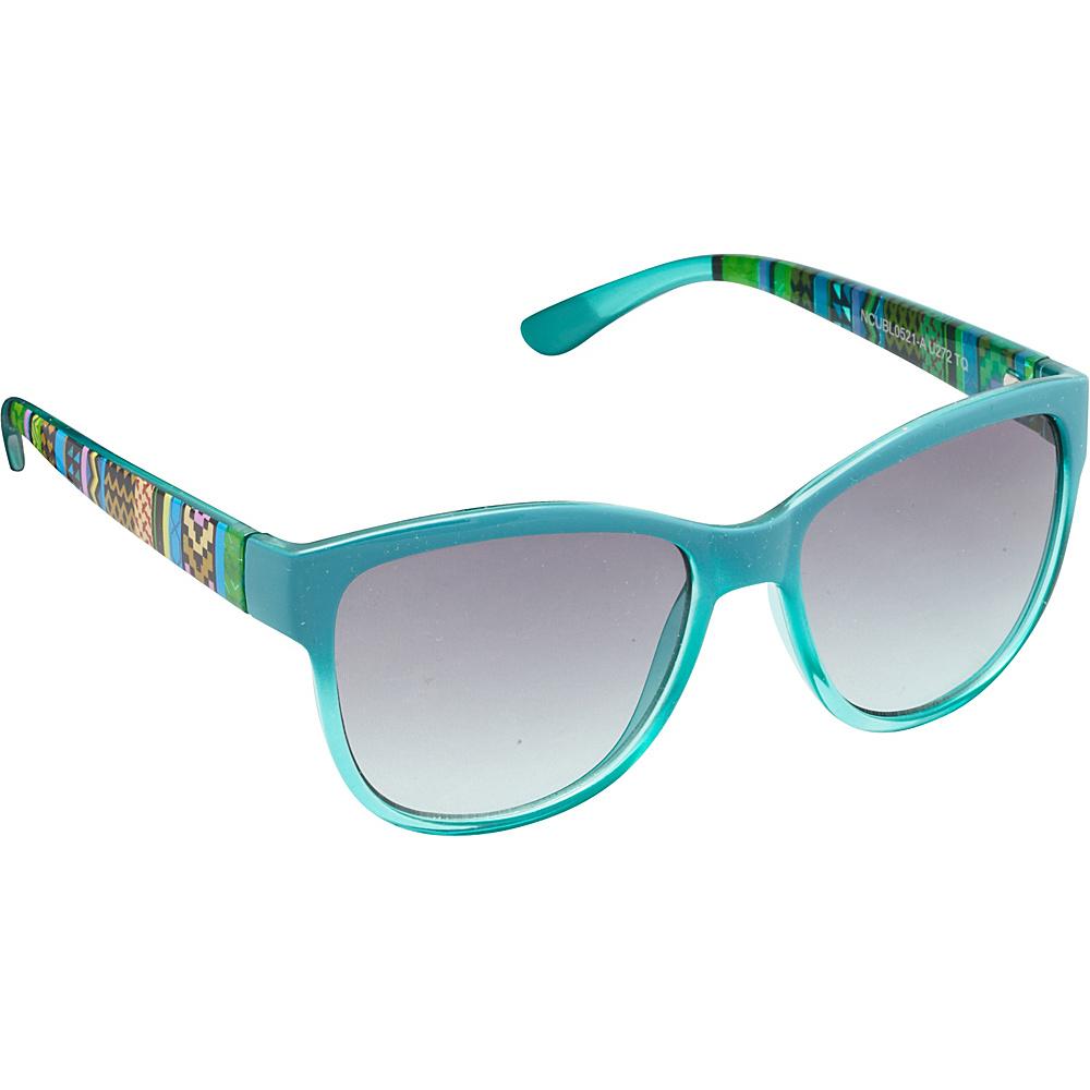 Unionbay Eyewear Tribal Cat Eye Sunglasses Turquoise Unionbay Eyewear Sunglasses
