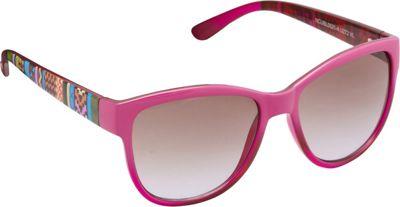 Unionbay Eyewear Tribal Cat Eye Sunglasses Violet - Unionbay Eyewear Sunglasses