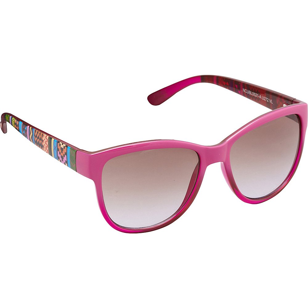 Unionbay Eyewear Tribal Cat Eye Sunglasses Violet Unionbay Eyewear Sunglasses