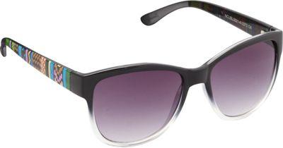 Unionbay Eyewear Tribal Cat Eye Sunglasses Black - Unionbay Eyewear Sunglasses