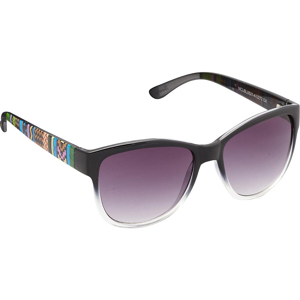 Unionbay Eyewear Tribal Cat Eye Sunglasses Black Unionbay Eyewear Sunglasses