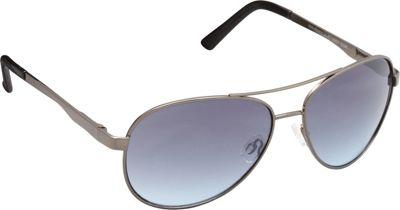 Unionbay Eyewear Metal Aviator Sunglasses Gun - Unionbay Eyewear Sunglasses