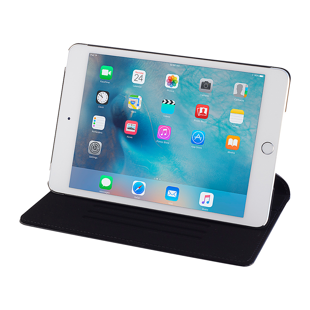 Devicewear Ridge iPad Mini 4 Case Slim Black Devicewear Electronic Cases