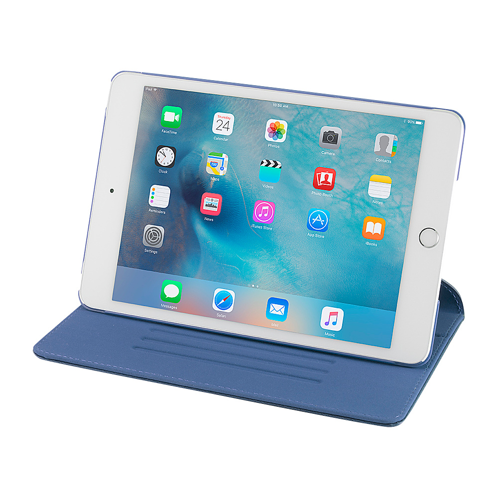 Devicewear Ridge iPad Mini 4 Case Slim Blue Devicewear Electronic Cases