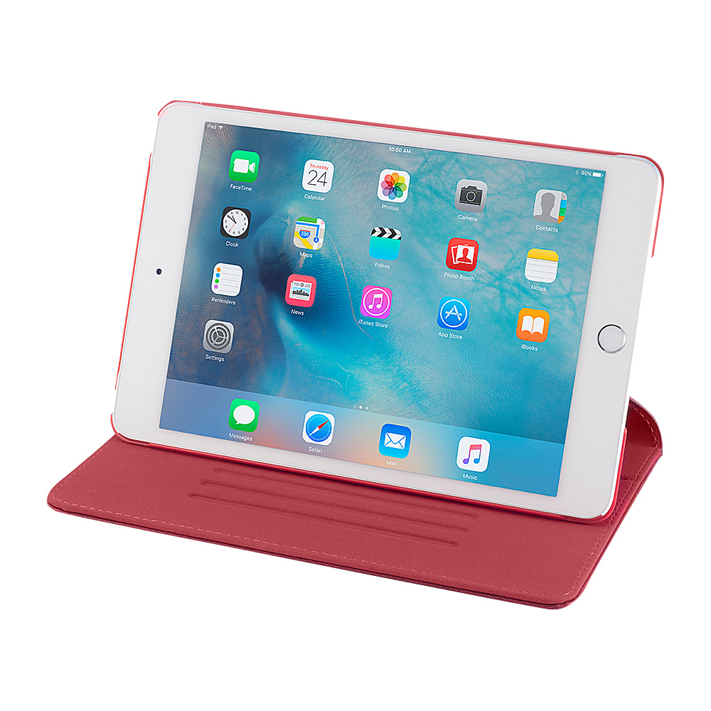 Devicewear Ridge iPad Mini 4 Case Slim Red Devicewear Electronic Cases
