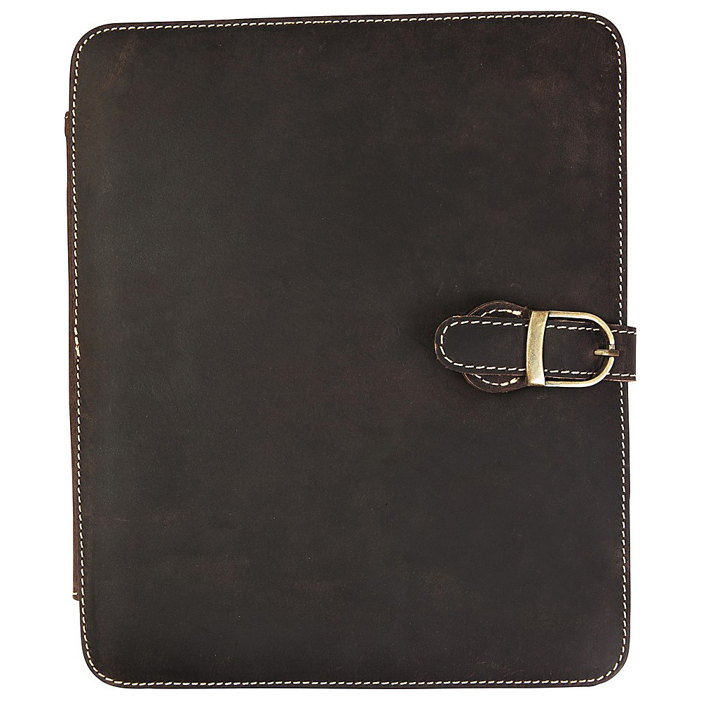 Canyon Outback Leather Bear Canyon Leather Media Holder Distressed Brown Canyon Outback Business Accessories