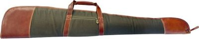 Canyon Outback Coyote Ridge Canyon 53-Inch Leather and Canvas Rifle Case Green - Canyon Outback Other Sports Bags