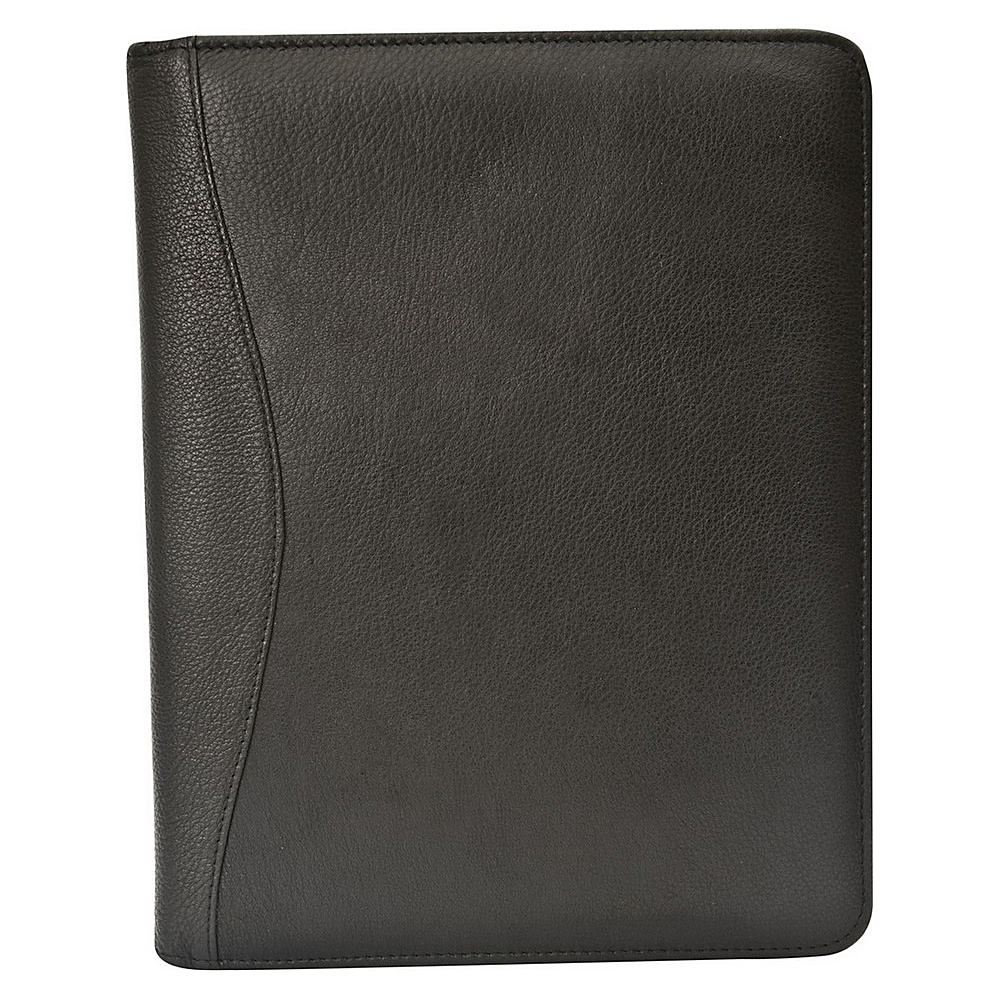 Canyon Outback Leather Red Rock Leather Meeting Folder Black Canyon Outback Business Accessories