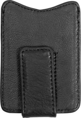 Canyon Outback Leather Copper Breaks Magnetic Leather Money Clip Black - Canyon Outback Men's Wallets