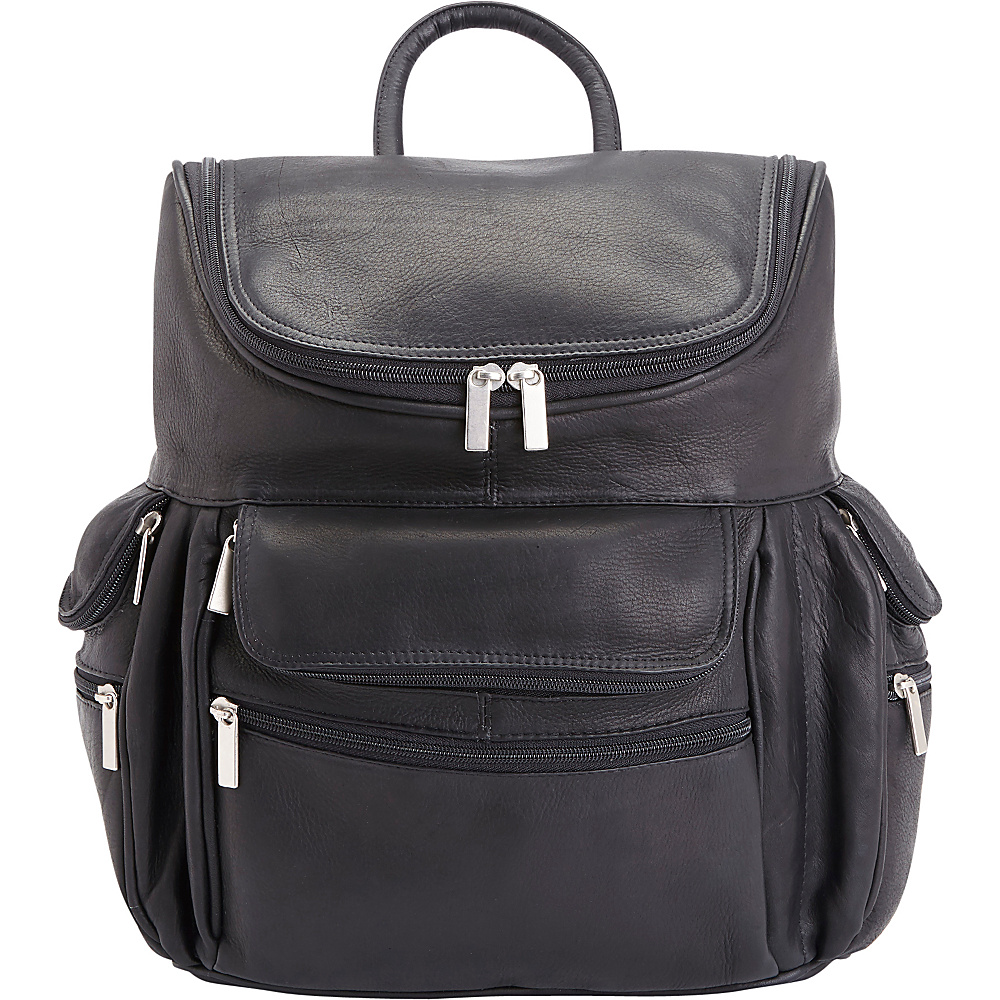 Royce Leather Executive Colombian Leather 15 Laptop Backpack Black Royce Leather Business Laptop Backpacks