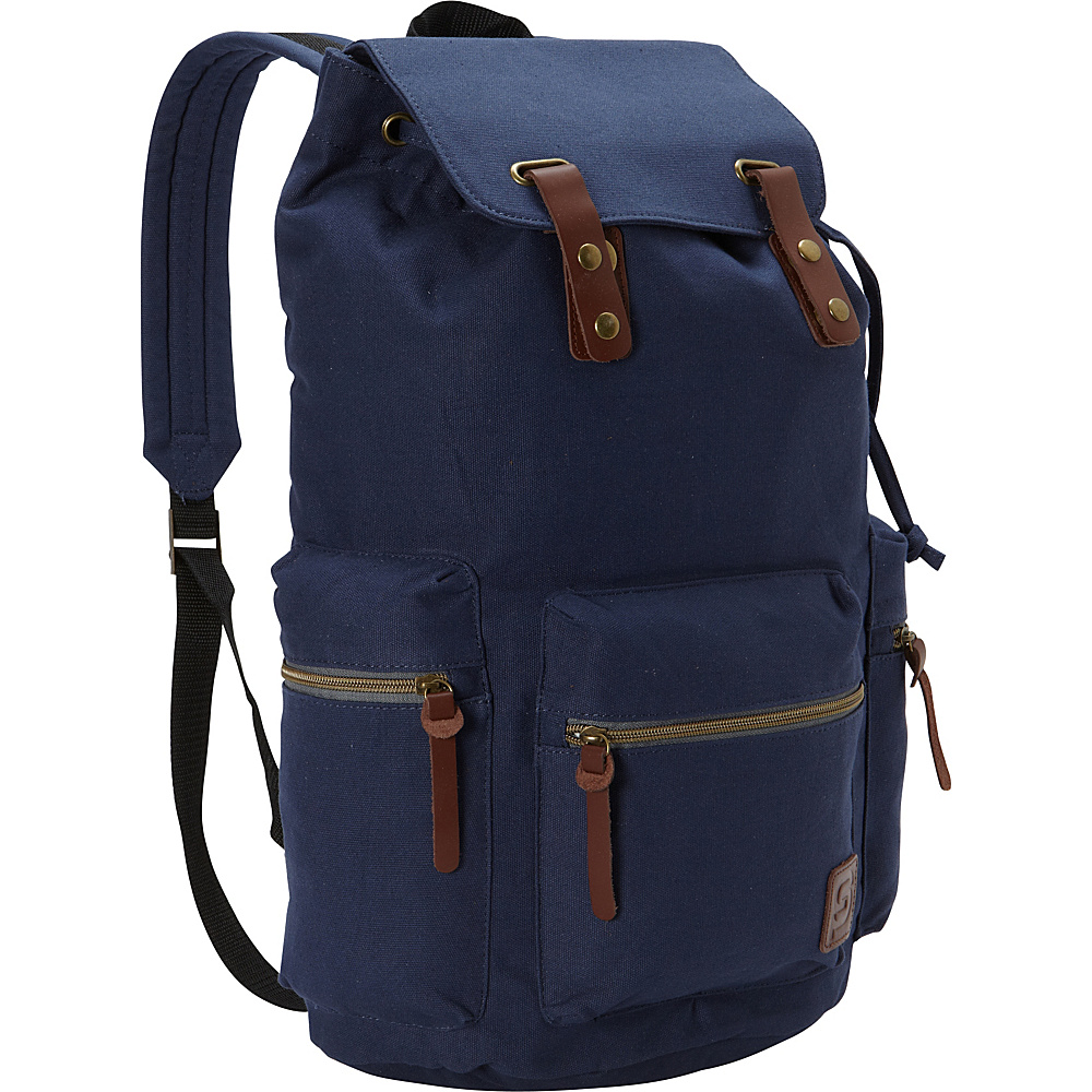 Sydney Paige Buy One Give One Guidi Laptop Backpack Midnight Blue Sydney Paige Business Laptop Backpacks
