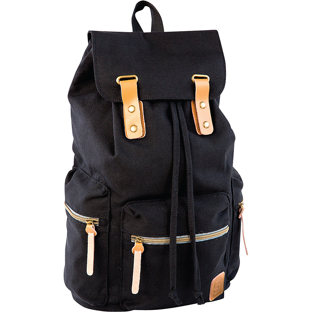 Sydney Paige Buy One Give One Guidi Laptop Backpack Black Sydney Paige Business Laptop Backpacks