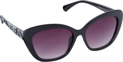 Circus by Sam Edelman Sunglasses Cat Eye Animal Print Sunglasses Black/Snake - Circus by Sam Edelman Sunglasses Sunglasses