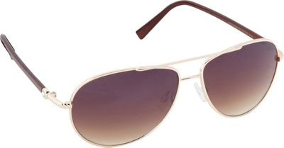 Circus by Sam Edelman Sunglasses Aviator Sunglasses Gold/Brown - Circus by Sam Edelman Sunglasses Sunglasses