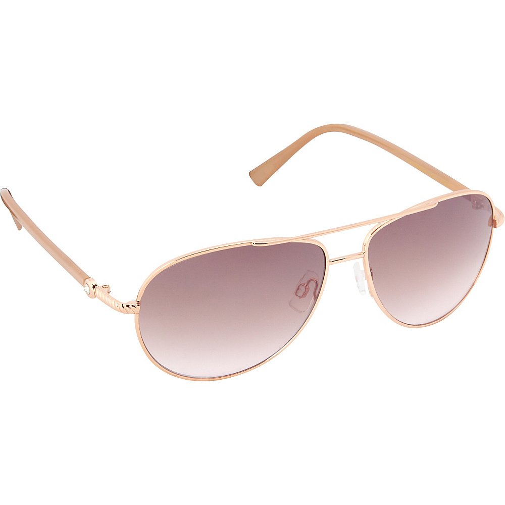 Circus by Sam Edelman Sunglasses Aviator Sunglasses Rose Gold Nude Circus by Sam Edelman Sunglasses Sunglasses