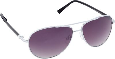 Circus by Sam Edelman Sunglasses Aviator Sunglasses Silver/Black - Circus by Sam Edelman Sunglasses Sunglasses